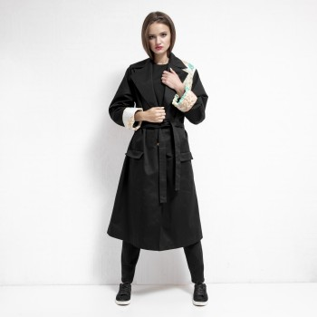Danni Contrast Trench